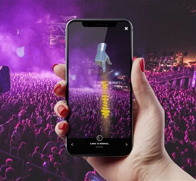 Mobile app uses AR to locate friends in a crowd